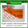 Stamper Evidence Tape voor Delivery (Sn-009)