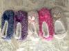 5つのカラー女性のプラシ天のスエードの靴