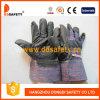 Zwart pvc Gloves met Stripe Back (DGP108)
