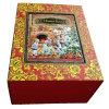 Cajas de regalo de la Navidad con el marco del metal conveniente para el mercado ruso