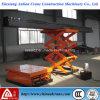 plataforma de funcionamiento hidráulica del peso 2000kg