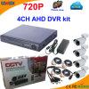 4 канал 720p освобождает систему CCTV средства программирования Cms
