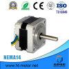 Motor de pasos de la calidad excelente NEMA14