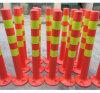 Postes fluorescentes moldeados una sola pieza de la seguridad