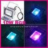 Luz de inundación del LED 10W RGB