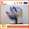 Gant en nylon blanc de sûreté de travail d'enduit de nitriles (DNN337)