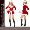 Nouveau costume sexy adulte bon marché de Noël de Santa (TDD80760)