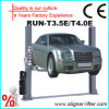 3.5/4t Hydraulic Two Post Car Lifts avec Clear Floor