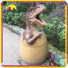Cubo de basura Animated decorativo del dinosaurio del parque temático Kano4044