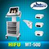 Hifu 휴대용 장비를 드는 살롱 사용 3 헤드 피부