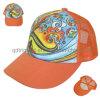 カスタム昇華プリントスポンジの前部網のトラック運転手の帽子(TMT01323)