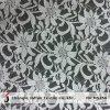 Laço floral branco barato da tela (M5256)