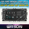 포드 Mondeo 2007-2011년 Car를 위한 Witson Car DVD DVD GPS 1080P DSP Capactive Screen WiFi 3G Front DVR Camera
