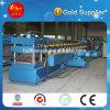 Roulis de qualité de rambarde de route formant la machine, machine galvanisée de fabrication de tôle