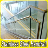 Steel inoxidável Glass Railing para Balcony e Stairs