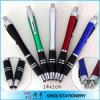 Ufficio-Use promozionale Plastic Ball Pen & Stylus Touch con Clip