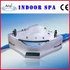 De acryl Witte Badkuip van de Massage met Aangemaakt Glas (bij-9807)
