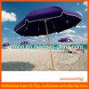 明白なカラーのカスタム広告浜の日傘