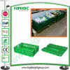 Stapeln Plastikfrucht-Behälter-des stapelbaren Frucht-Rahmens