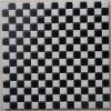 Mini Square Ceramic Wall Tile Mosaic con Black and White Color