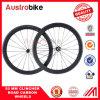 Klammer-Kohlenstoff Wheelset Straßen-Fahrrad Wheelset 3k 12k Ud Webart