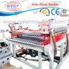 Chaîne de production en plastique d'extrudeuse de toit ondulé de plaque d'onde de PVC/Pet/PC