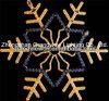 Licht van Kerstmis van het Motief van het Ontwerp van de Animatie van de openlucht LEIDENE Sneeuw van Kerstmis Divers