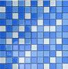 Mattonelle di mosaico blu del mosaico di vetro