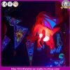 Heißer LED-heller aufblasbarer hängender roter Drache für Halloween-Dekoration