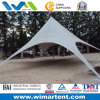 13m White Star Shade Tent für Family Camping, Family Gathering