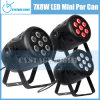 7*8W Mini van uitstekende kwaliteit LED PAR Can Stage Light
