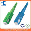 PC recto de SM de Sc de catégorie de télécommunication/UPC/connecteur fibre optique de RPA