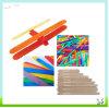114mm DIY Kind-hölzerne Stöcke, Fertigkeit-Stöcke, Popsicle-Stöcke und Lutscher-Stöcke für Kind-Fertigkeit-Zubehör