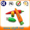 Memoria flash USB verduras de dibujos animados lindo de la forma de memoria USB del regalo promocional