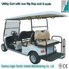 Eléctrica de Utilidade Carros (EG2048KSZ, 6-Person com o assento traseiro do flip-flop)