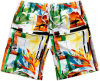 Costume Boardshorts do poliéster do Sublimation do Mens
