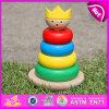 2015 neues Arrival Kids Wooden Toy Bricks, Primary Wooden Toy Bricks für Children, Highquality Stacking Blocks Toy Bricks W13D065