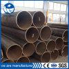 Estructura negro Círculo de tubería de acero como material de construcción