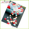 Tejido Paper Pompoms Garlands para Wedding Car Decoration