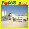 ISO zugelassene 50~60m3/H bewegliche konkrete stapelweise verarbeitende Pflanze, Schlussteil-Beton-Pflanze