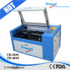 소형 CNC Laser Engraving 또는 Laser Machine Engraving/Laser Cutting Machine Tr 6040