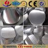 Горячий круг алюминия крена/алюминиевых для утварей Cookware и кухни (A1050 1060 1100 3003)