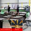 Cnc-Plasma-Flamme-Form-Doppelt-Laufwerk-Ausschnitt-Maschine