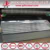亜鉛上塗を施してある鋼鉄波形の金属の屋根ふきシート