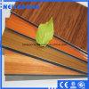 Comitato composito di alluminio del grano di legno e del marmo interno