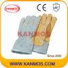 Корова зерна Палм Полное Боа Подкладка Зимние перчатки (12307)