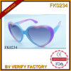 Forme de belles lunettes de soleil d'armature de PC pour les enfants (FK0234)