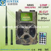 SMS MMS GPRS G/M 12MP Waterproof Remote Trail Camera com visão noturna Wildlife Camera de SIM Card