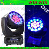 Lumière principale mobile de zoom UV de RGBA DEL