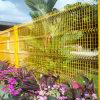 Geschweißter getäfelter Ineinander greifen-Zaun